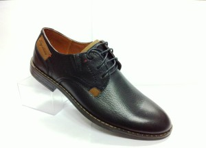 "RS-5 , мужская обувь ""Комфорт"" нат. кожа-чёрный ( кол-во 8 пар, 39-44) 1650 р."