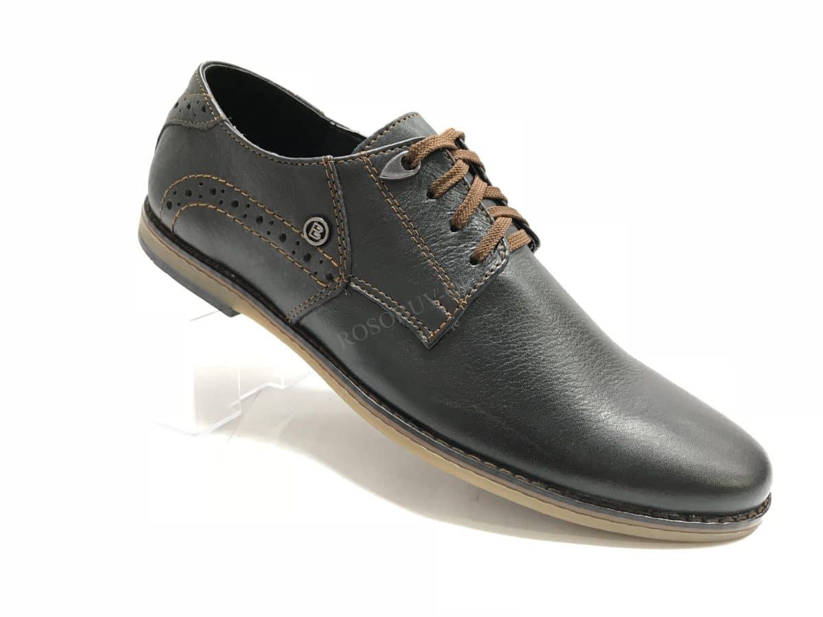 Ботинки мужские: 0630 Материал: кожа Цвет: чёрный Коли-во: 8 пар Размеры: 39-44 (повторные 41,42) Цена: 1450