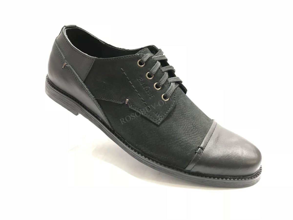 Ботинки мужские: 0635 Материал: кожа Цвет: чёрный Коли-во: 8 пар Размеры: 39-44 (повторные 41,42) Цена: 1400
