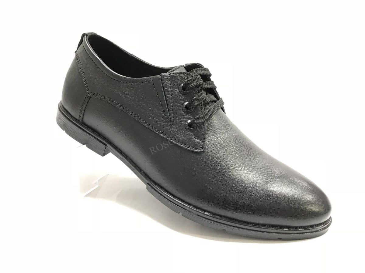 Ботинки мужские: 0637 Материал: кожа Цвет: чёрный Коли-во: 8 пар Размеры: 39-44 (повторные 41,42) Цена: 1400