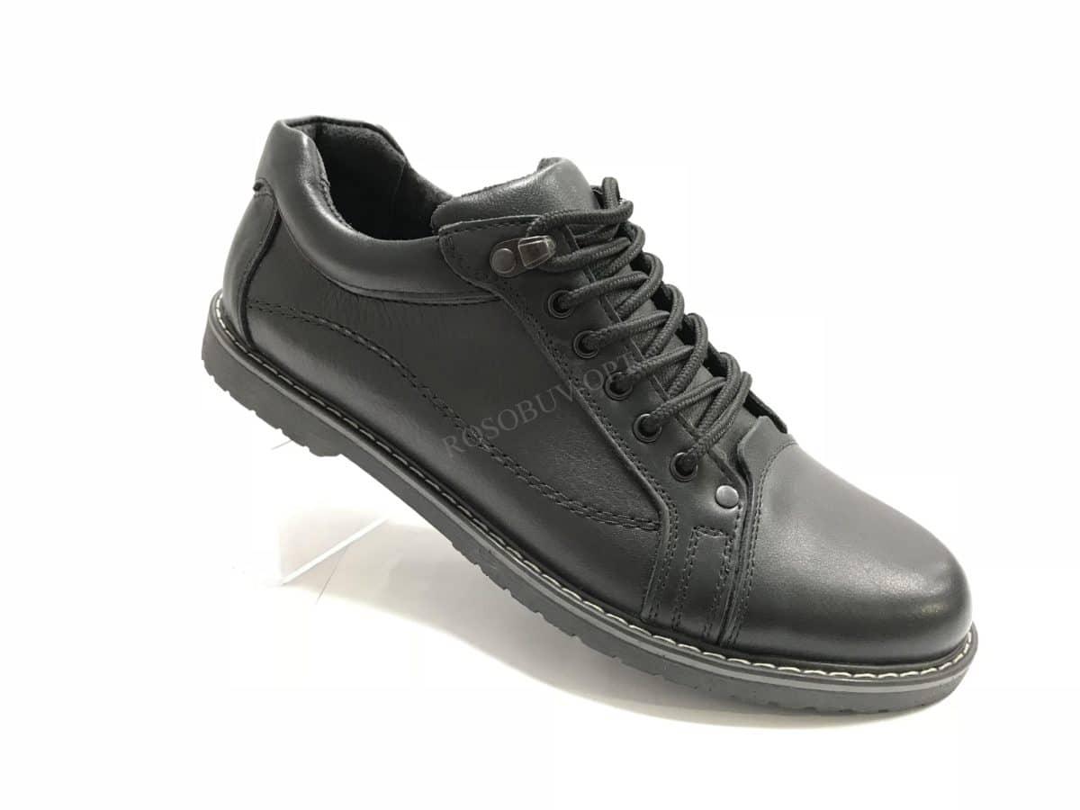 Ботинки мужские: 0654 Материал: кожа Цвет: чёрный Коли-во: 8 пар Размеры: 39-44 (повторные 41,42) Цена: 1450