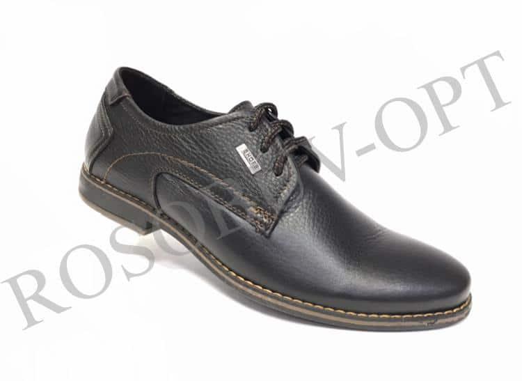Ботинки мужские: 4861 Материал: кожа Цвет: чёрный Коли-во: 8 пар Размеры: 39-44 (повторные 41,42) Цена: 1450