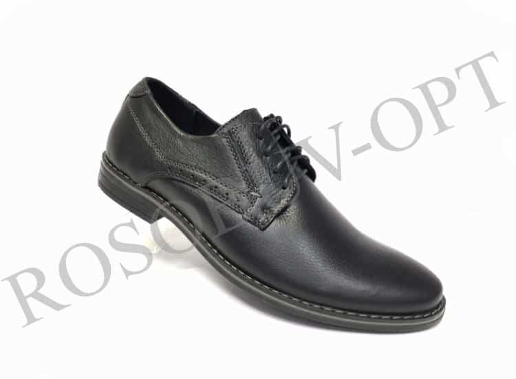 Ботинки мужские: 4864 Материал: кожа Цвет: чёрный Коли-во: 8 пар Размеры: 39-44 (повторные 41,42) Цена: 1450
