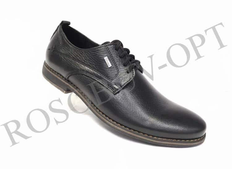 Ботинки мужские: 4865 Материал: кожа Цвет: чёрный Коли-во: 8 пар Размеры: 39-44 (повторные 41,42) Цена: 1450