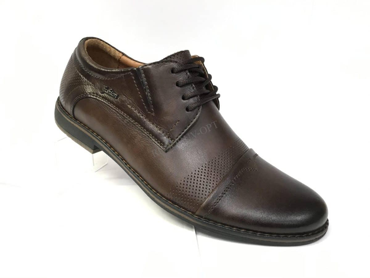Ботинки мужские: 4949 Материал: кожа Цвет: коричневый Коли-во: 6 пар Размеры: 39-44 Цена: 1700