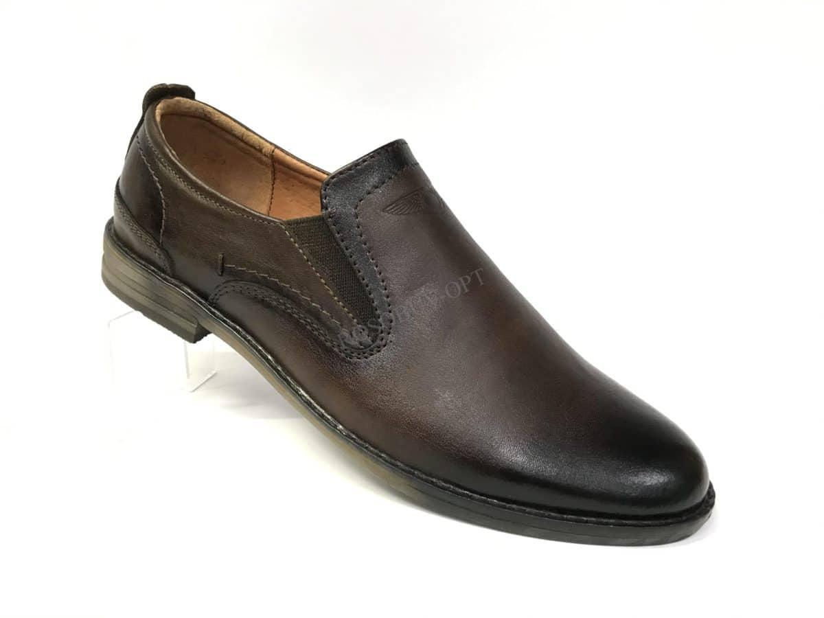 Ботинки мужские: 4952 Материал: кожа Цвет: коричневый Коли-во: 6 пар Размеры: 39-44 Цена: 1700