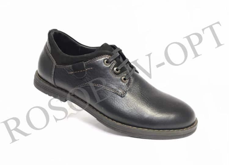 Ботинки мужские: 5807 Материал: кожа Цвет: чёрный Коли-во: 8 пар Размеры: 39-44 (повторные 41,42) Цена: 1500