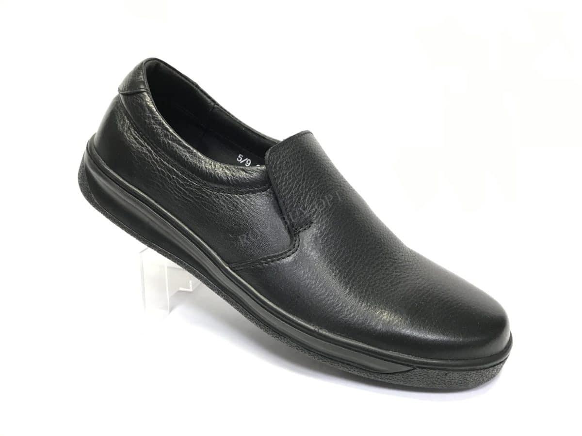 Ботинки мужские: 7097 Материал: кожа Цвет: чёрный Коли-во: 8 пар Размеры: 39-44 (повторные 41,42) Цена: 1300