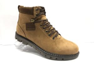 Ro -8749 - Ботинки мужские, нат. кожа - нат. мех, цвет песочный, шнурок-замок, 8 пар, размеры с 40 по 45 (повторные размеры - 42,43 ) - цена 2500 р.